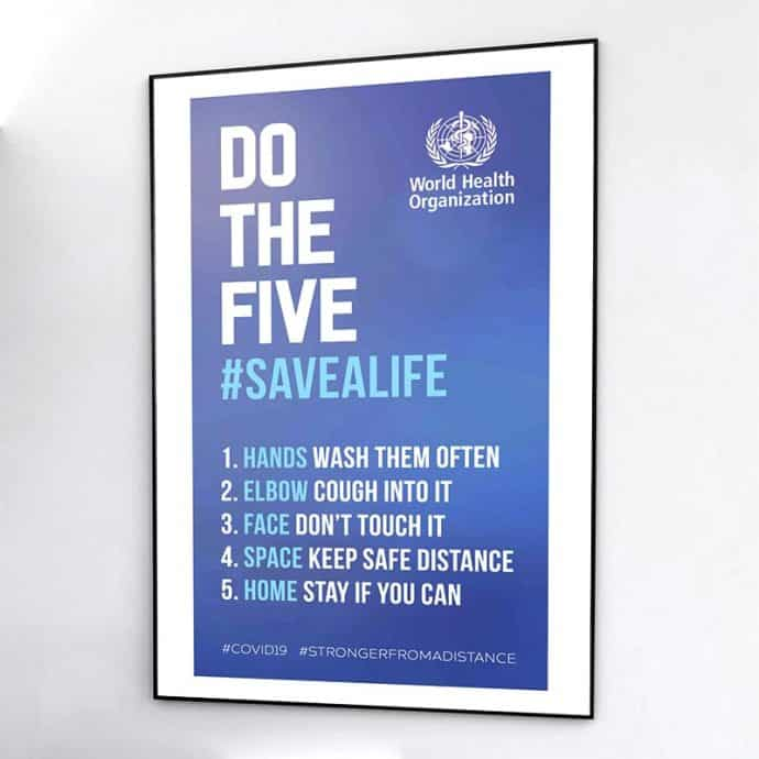 Do the 5 Save a Life-Covid-example