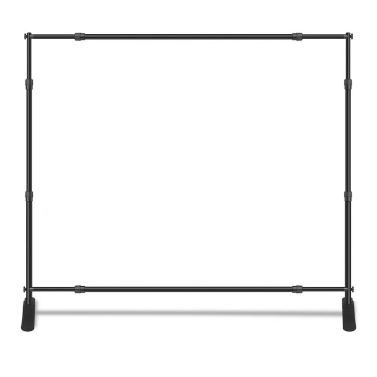 Frame Example - step and repeat banner