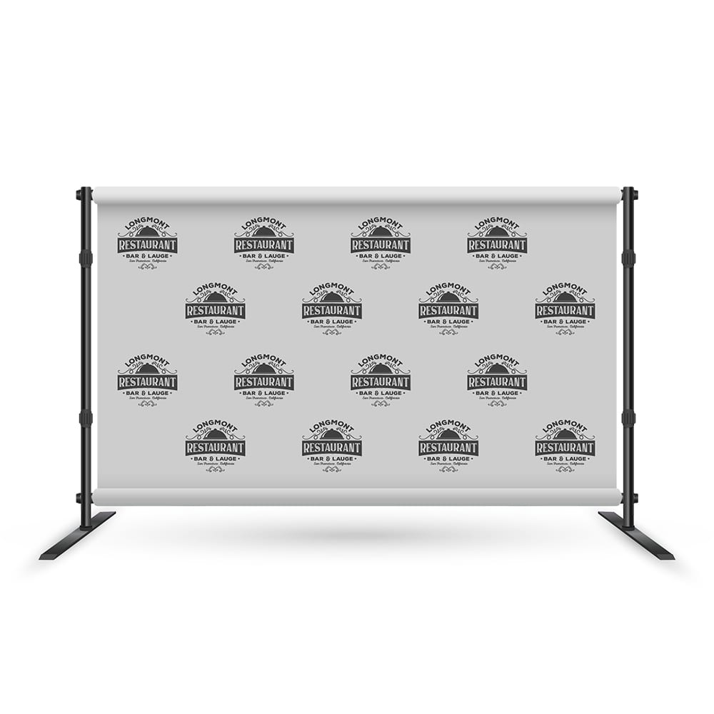 Logos on Step and Repeat Banner