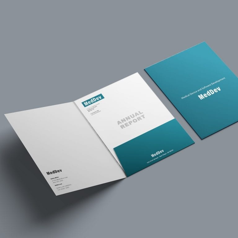 Pocket Folder Example-med device