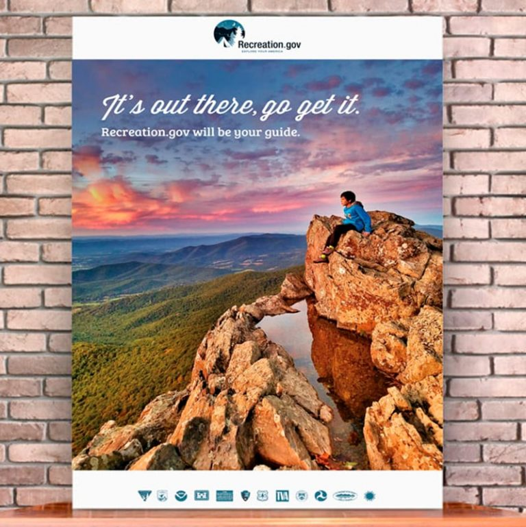 Poster-it's Out There Go Get It