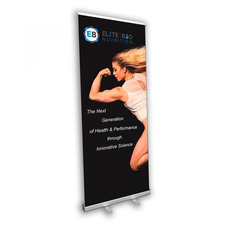 Rectractable-Standing Banner-Elite Sample