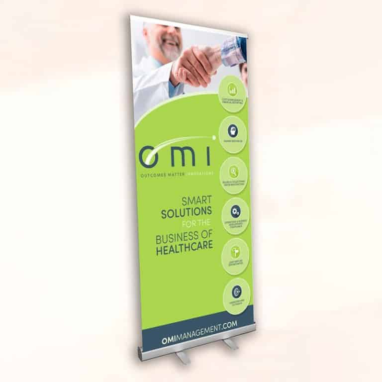 Rectractable-Standing Banner-OMI Sample
