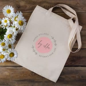 Tote Bag Canvas Sample by Choloe