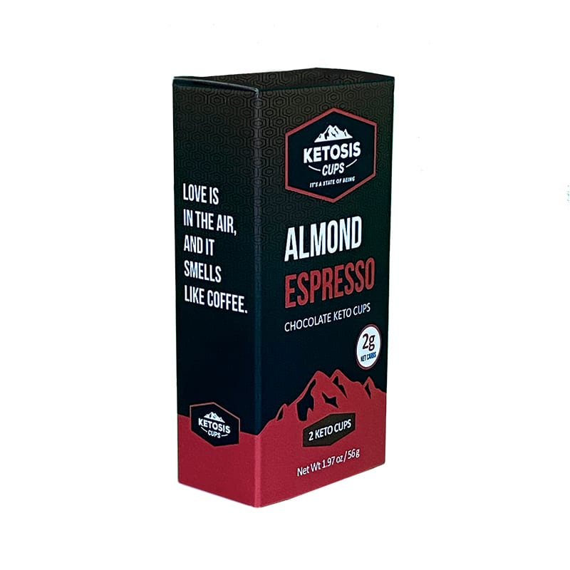 Almond Expresso product box example