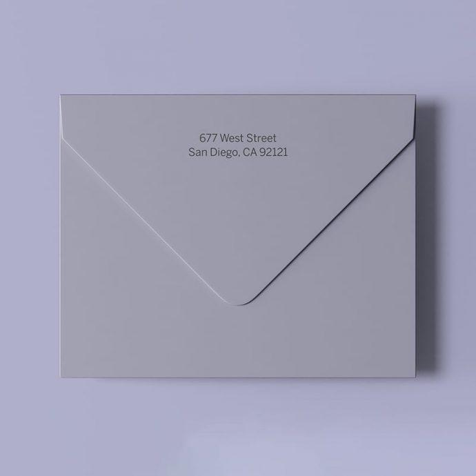 Announcement Envelope-example