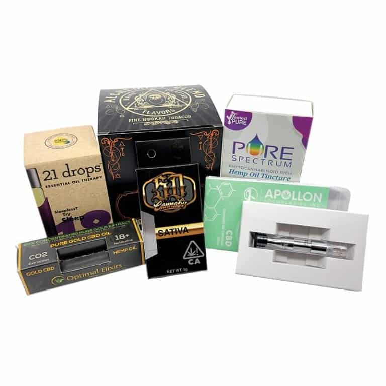 Cannabis and CBD Boxes