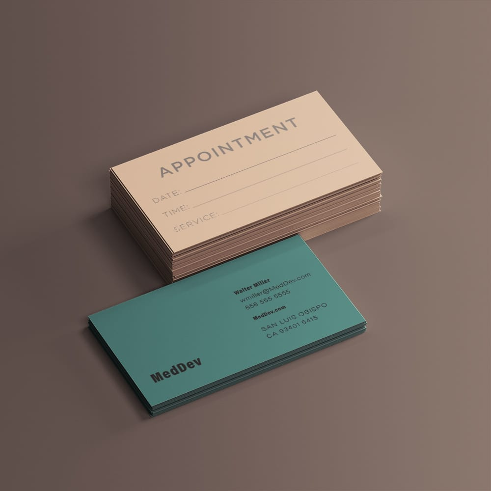 Classic Business Card Example