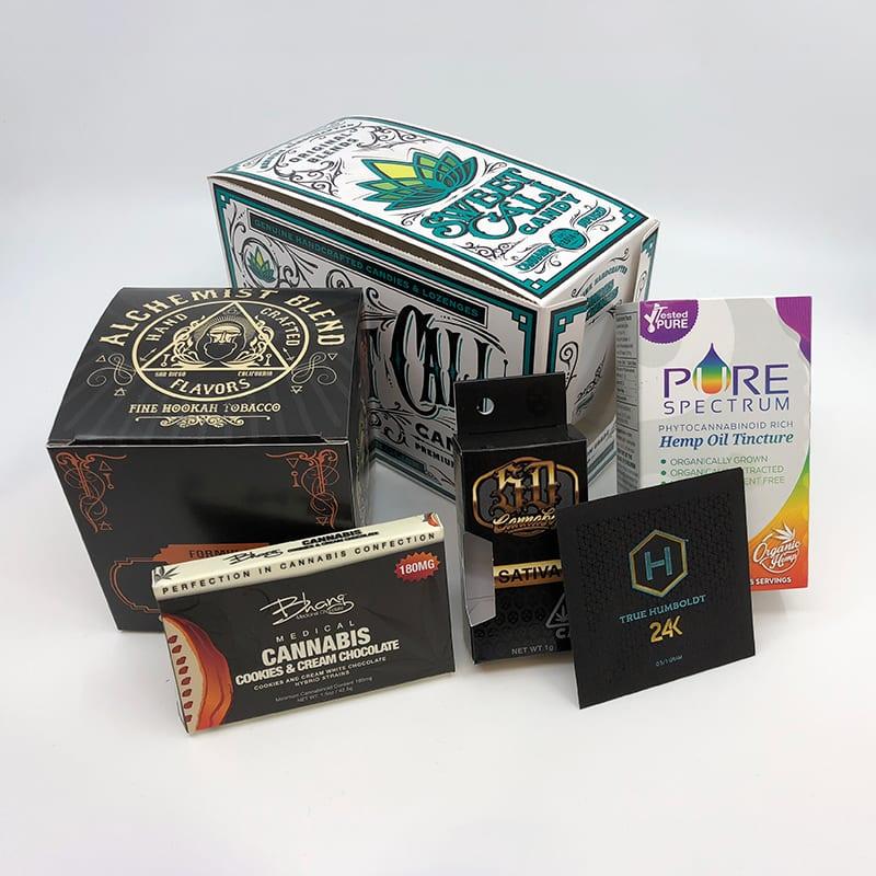 Folding Carton Box Examples