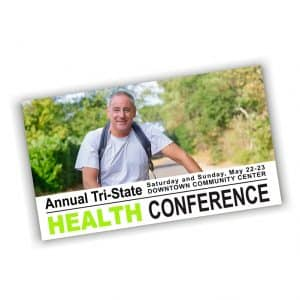 Health Conference Postcard-example