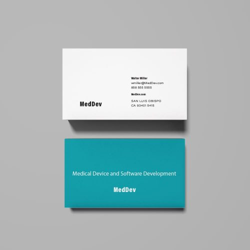Medical Device Sample Business Card