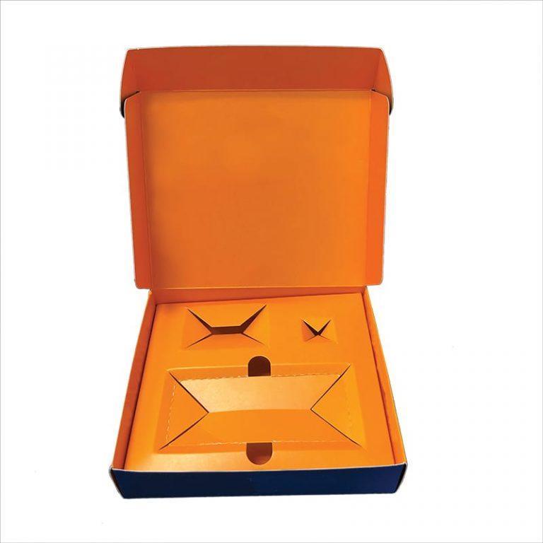 Orange Box-folding carton example