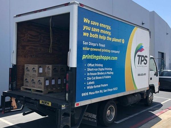 TPS Printing Truck Back