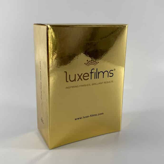 gold foil box example