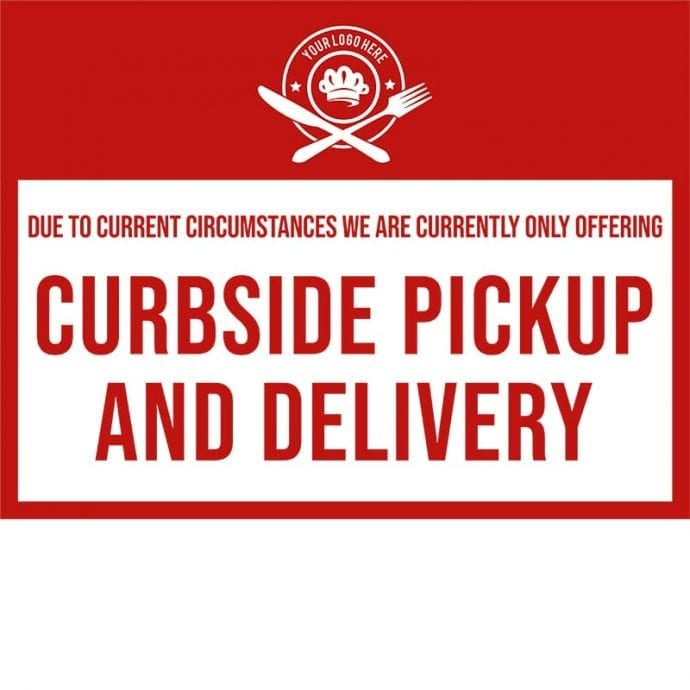 Covid19-Yard Signs_curbside pickup-red