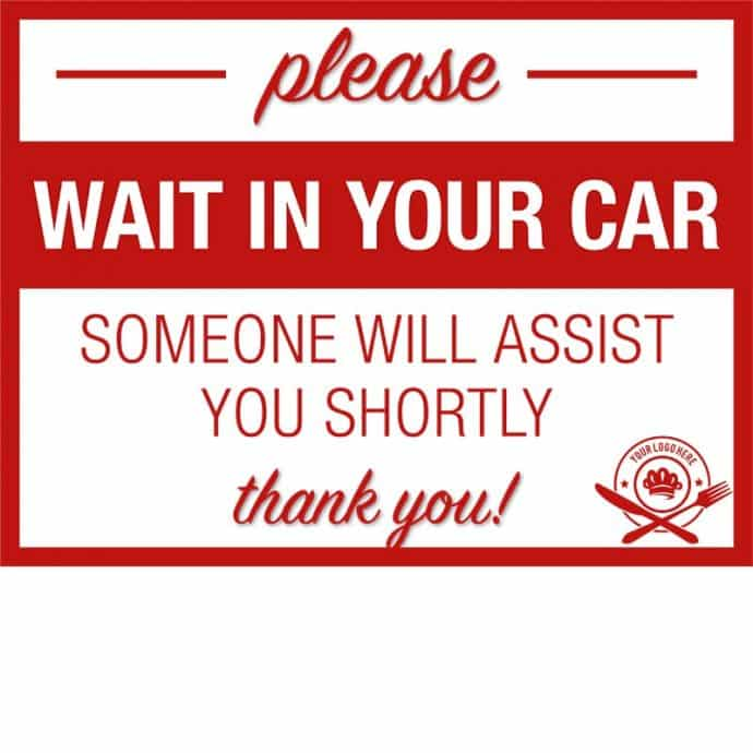 Covid19-Yard Signs_wait in your car-assistance-red