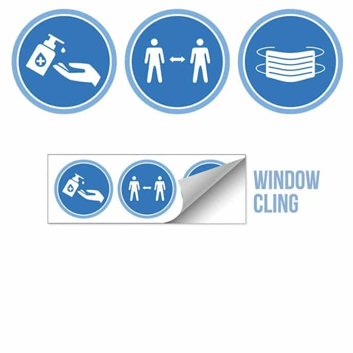 Window Clings - Labels and Stickers Covid-01