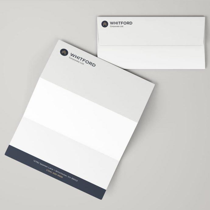 Envelope & Letterhead Example