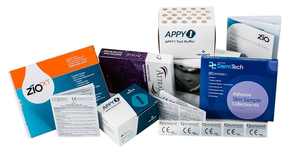Packaging examples