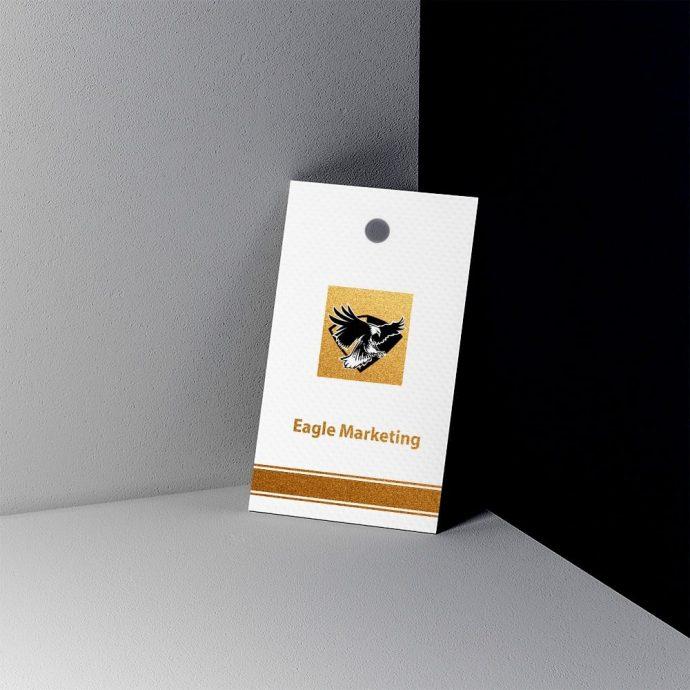 hang tag example eagle