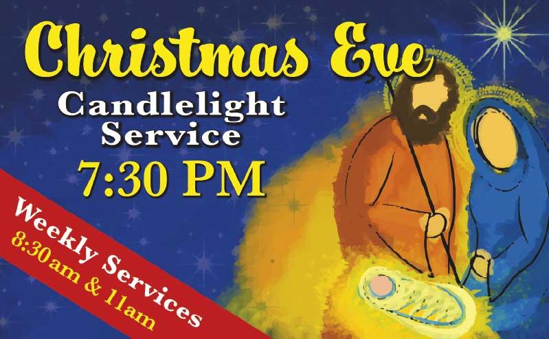 Christmas Eve Church Banner