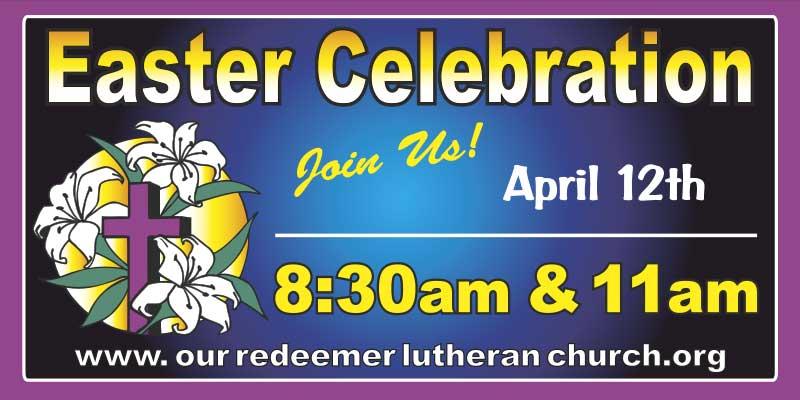 Church Easter Banner