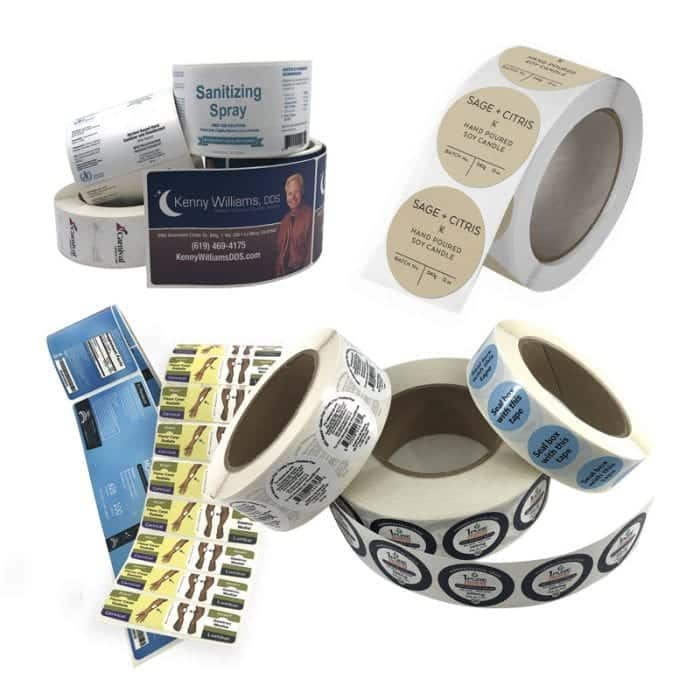 various-roll-label-examples